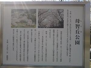 母智丘公園の説明の写真