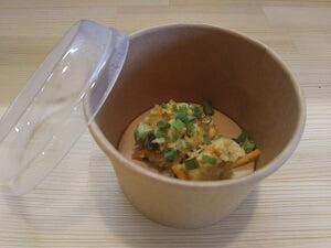 テイクアウト時の味噌玉の写真