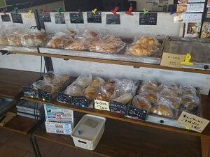 パンが売られている写真