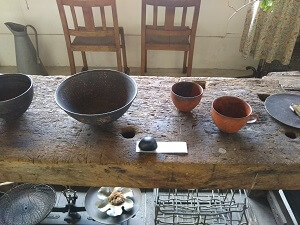 クラシックの陶器3の写真