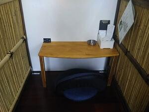 ONEDAYの奥の部屋のお一人様席の写真