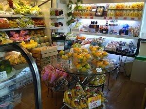 たなかフルーツの店内の雰囲気の写真