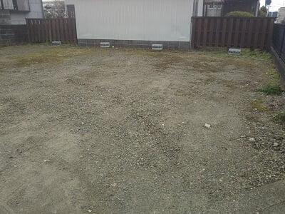 musubiの離れた駐車場の写真