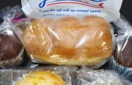 えぃちゃんパンで買ったパンの写真