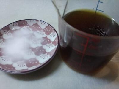 調味料と水溶き片栗粉の写真