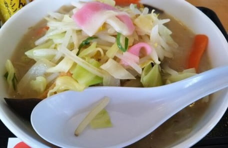 リンガーハット鹿児島隼人店の野菜たっぷり食べるスープの写真