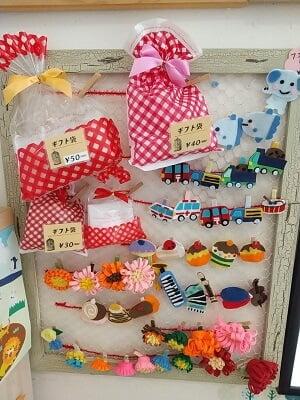パティスリーeveの販売ギフト袋の写真
