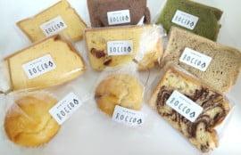 ROCCOで買った焼き菓子の写真